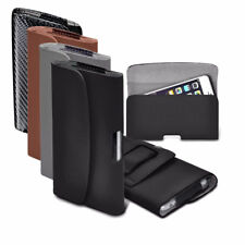 PU Faux Leather Horizontal Belt Holster Case Cover for Blackview Phone Models