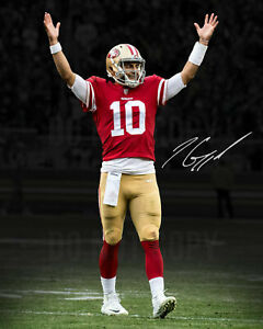 Jimmy Garoppolo Autographed Signed 8x10 Photo 49'ers REPRINT