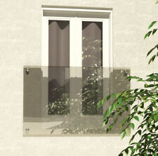 More details for venini floating clear glass juliet balcony - huge range - free delivery*