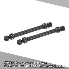 2PCS Universal Drive CVD Shaft 93-113mm for SCX10 D90 RC4WD RC Crawler J5E9