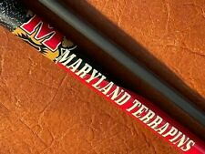 New listing Maryland Terrapins With Jacoby Prototype Carbon Fiber Pool Cue 30 Inch Shaft