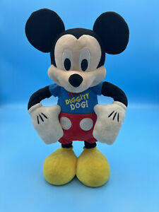 Mickey Mouse Clubhouse Hot Diggity Dog  Dancing Plush - Large