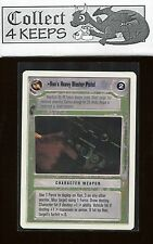 Star Wars CCG Premiere Unlimited WB: Han's Heavy Blaster Pistol (SWCCG) Played