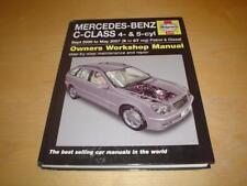 Haynes MERCEDES W203 C CLASS 160 C180 C200 C220 C230 C270 Owners Manual Handbook