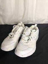 New Balance 609 Men's White on White Walking Shoes Sneakers Size 7