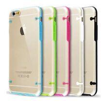 Étuis, housses et coques Bumper en silicone, caoutchouc, gel pour téléphone mobile et assistant personnel (PDA) Apple