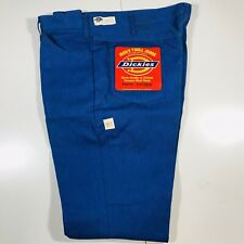 Vintage 80s Dickies Blue Work Pants With Tags Deadstock Size 42x30 USA Skater