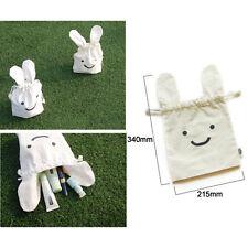 Stylish Cute Travel Bag Drawstring Pouch Mini Picnic Tote Cosmetic Makeup Rabbit