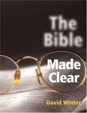 THE BIBLE MADE CLEAR: An Illustrated Guide by David Winter NEW PAPERBACK BOOK 24