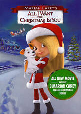 Mariah Carey's All I Want for Christmas Is You NEW DVD FREE SHIPPING!!!