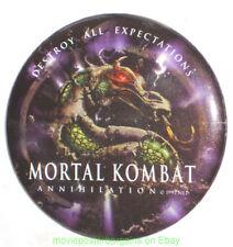 MORTAL KOMBAT ANNIHILATION MOVIE POSTER STYLE BUTTTON