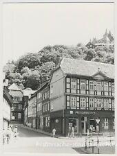 Werningerode - Reisebüro Passanten Kreuzung - Altes Foto 1976