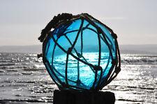 "large glass bouy 25cm (10"")  float nautical seaside fishing bouys, beach, boat"