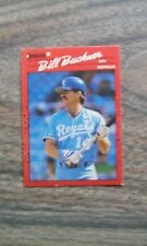 BILL BUCKNER BASEBALL CARD ROYALS DH DONRUSS LEAF 1990 #474