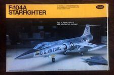 "* TESTORS 1/48 scale F-104A STARFIGHTER ""Aluminum Plating"" model kit"