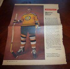 Murray Oliver # 8 issue Weekend Magazine Photos 1962 -1963 Toronto Star  # 2