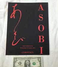 Asobi 15th October 2014 Christie's Catalog - Mint Condition