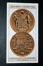 The FA Cup Winners Medals  1930's Vintage Card