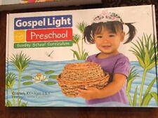 Gospel Light Preschool Sunday Bible School Curriculum Quarterly Kit Winter A