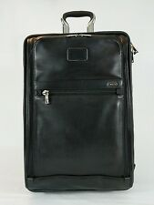 NWT Tumi Alpha Expandable Int'l 2-Wheel Carry-on Black Leather* 92220DH * $1,095