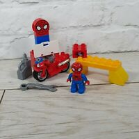 Lego Duplo Spider Man's Webb-Bike Workshop Set 10607 Complete Marvel Super Hero