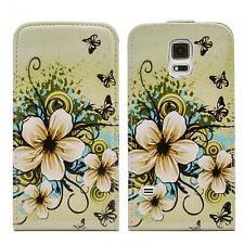 Flip Case Handy Tasche Samsung Galaxy S5 G900f Schutz hülle Cover Bag Klapp Etui