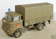 ESPEWE HO 1/87 DDR  IFA W 50 CAMION MILITAIRE MILITARY repeint