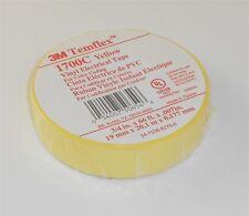 "3M -  1700C-YELLOW-3/4X66FT Temflex Vinyl Electrical Tape Yellow 3/4"" x 66'"