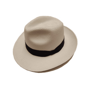 Failsworth Panama Hat Made In Ecuador - Snap Brim Medium / Large Approx 57 59 cm