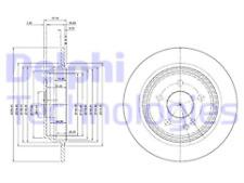 Delphi BG4063C Brake Disc