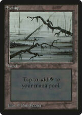 Swamp (Vers.3) - BETA Edition  - Old School - MTG Magic The Gathering
