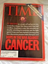 TIME MAG 1994 APRIL 25 CANCER,KGB SPYMASTER,MURDER IN THE WORKPLACE,WHITEWATER,