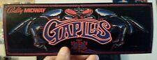 Gaplus arcade marquee sticker. 3.5 x 9.5 (Buy any 3 stickers, GET ONE FREE!)