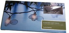 Smith and Hawken Outdoor/Indoor 10 Bumblebee String Lights 11ft x 6in White