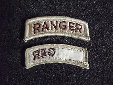 US Ranger Aufnäher Patch DCU