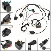 Wiring Harness Loom Solenoid Coil CDI 50/90/110/125cc Quad Pit Dirt Bike ATV