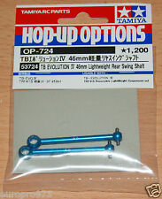 Tamiya 53724 TB Evo IV Lightweight 46mm Swing Shaft (TRF415/TA05VDF/TA06 Pro)