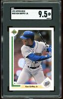 1991 Upper Deck #555 Ken Griffey Jr SGC Graded 9.5 = PSA 10? Mariners 3rd Year