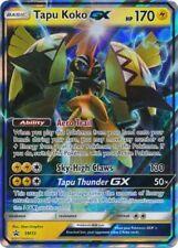 * Pokemon Tapu Koko GX - SM33 - Promo - Sun and Moon Black Star Promos *