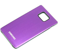 Metall Akkudeckel Battery Cover Case für Samsung Galaxy S2 II i9100 (violett)