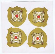 Sovereign Military Order of Malta, Knights St. John, button paper label #4