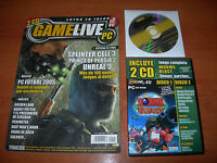 REVISTA GAMELIFE PC Nº41 + JUEGO WORMS BLAST + DEMOS