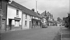 B/W Negative Overton Hampshire Street Scene Shops 1949 +INC © DB468