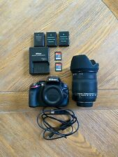 Nikon D5100 16.2MP DSLR + Sigma 18-250mm zoom lens + more