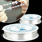 2Pcs Transparent Crystal Elastic String Thread For Beading Jewelry Crafts DIY