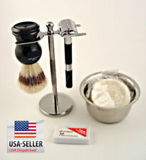 Shaving Set Gift Vintage Butterfly Safety Razor Holiday Season Omega Collectable