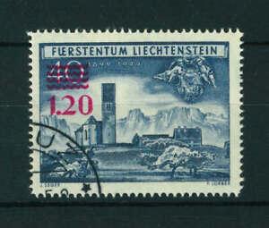 Liechtenstein 1952 Surcharged stamp. Used. Sg 308