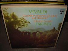 I MUSICI / VIVALDI complete concertos 11 & 12 ( classical ) 3 lp box philips