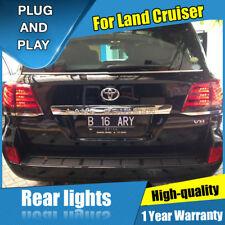JGRT For LAND CRUISER Dark / Red LED Rear Light Assembly LED Tail Lamp 2008-2015