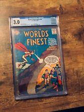 "World's Finest Comics #90 (1957) ""The Super-Batwoman"